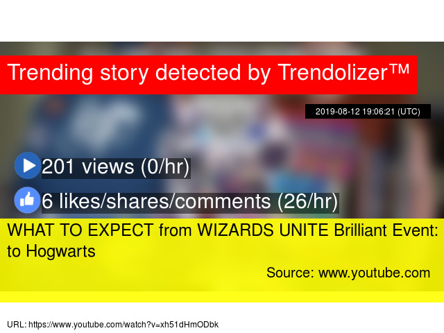 WHAT TO EXPECT from WIZARDS UNITE Brilliant Event: Back to Hogwarts