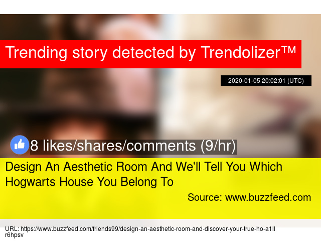 Design An Aesthetic Room And We X27 Ll Tell You Which Hogwarts