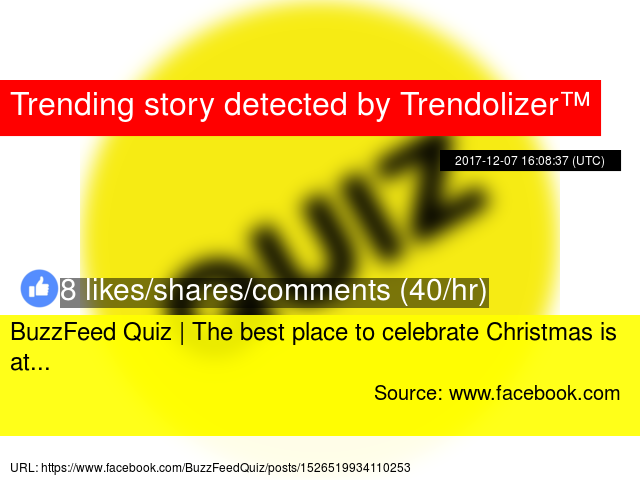 buzzfeed quiz the best place to celebrate christmas is at